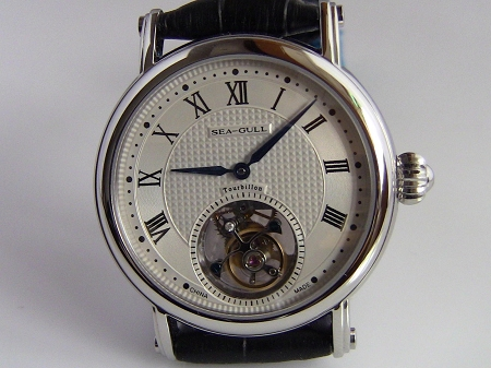 New Sea-Gull tourbillon 818.900 wrist watch